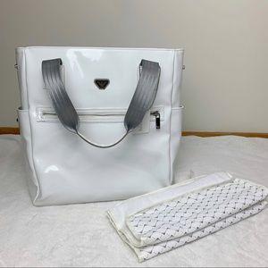 Armani Junior Glossy Diaper Bag